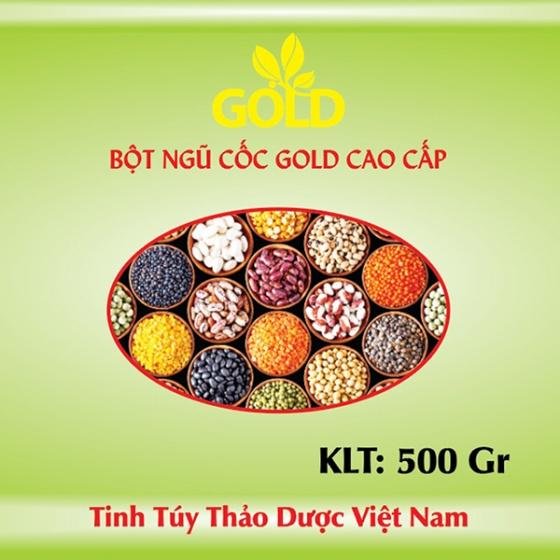 Bột ngũ cốc Gold cao cấp 500 gr