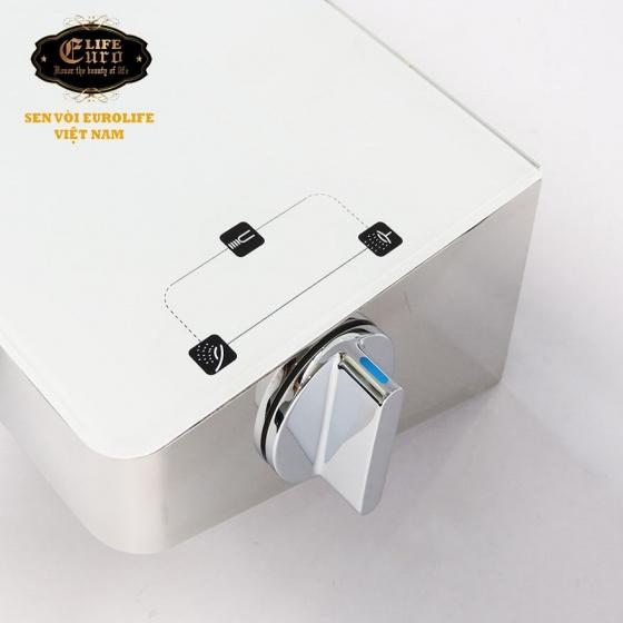 Sen bộ tắm đứng nóng lạnh Eurolife EL-SC906 (Trắng bạc)