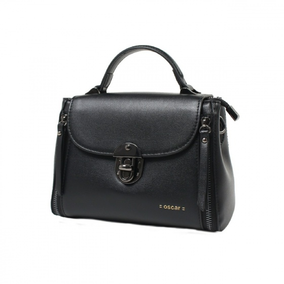 Túi xách nữ Oscar - OCWHBLD023BLK màu đen