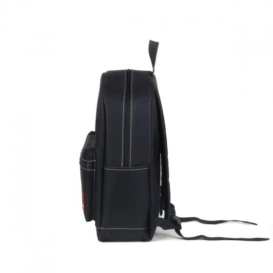 Combo balo thời trang nam đẹp Glado daypack GDP003 (màu đen) và túi đeo chéo GEX001 (màu đen)