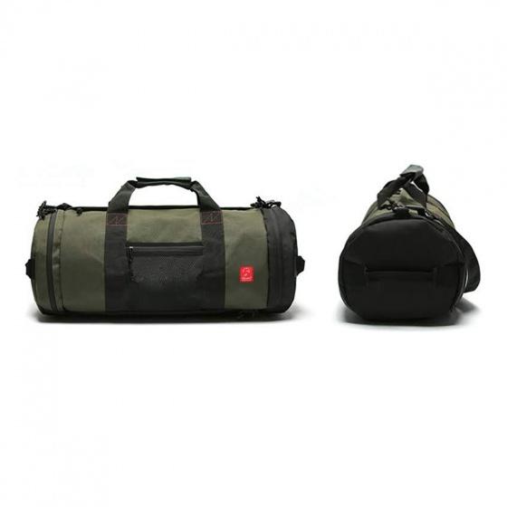 Combo túi xách du lịch Glado roamer GRM002 (màu xanh rêu) và túi đeo chéo GEX002 (màu xanh rêu)