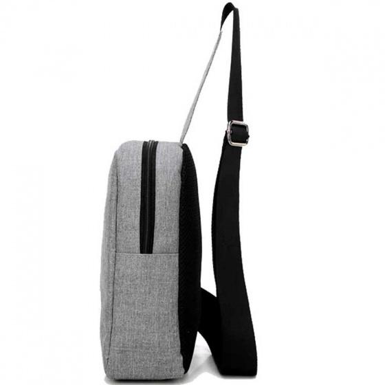 Combo túi xách du lịch thời trang Glado TBG001 (3 màu) và túi đeo chéo DCG026 (màu xám) .