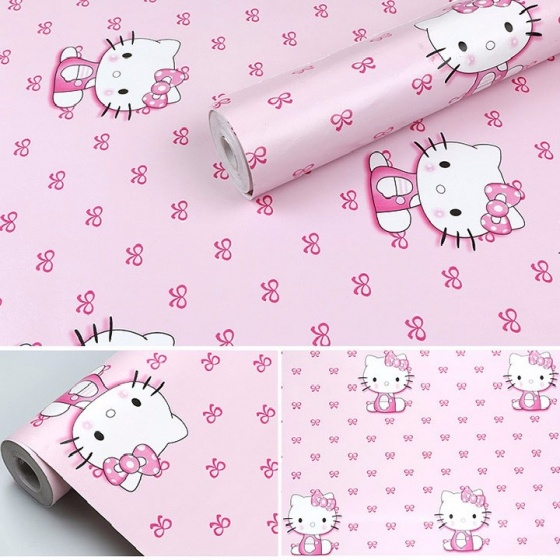 Combo 5m Giấy decal cuộn Hello Kitty 3 DT109