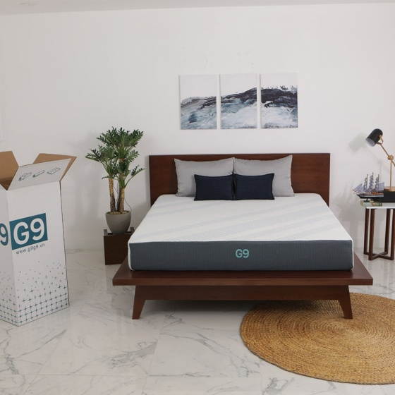 Nệm cuộn G9 NAVY 200x200x25 cm