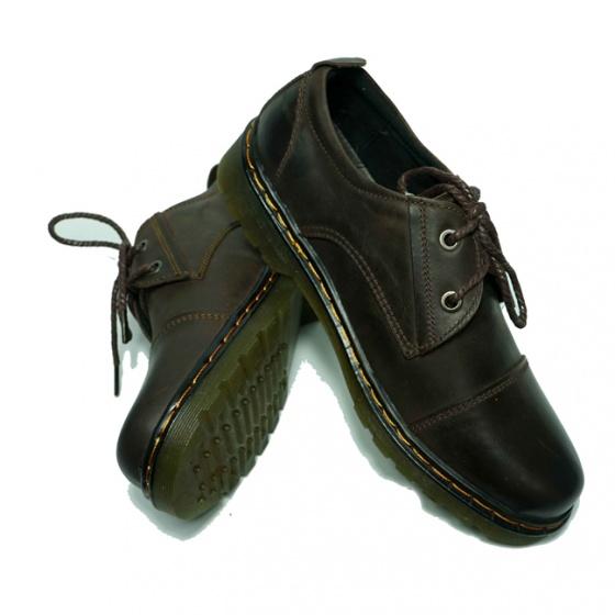Giày Nam da bò thật 100% tặng ví nam + tất khử mùi cao cấp (2h - 13)