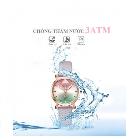 Đồng hồ nữ chính hãng Julius Hàn Quốc JA-1158C (Tím)