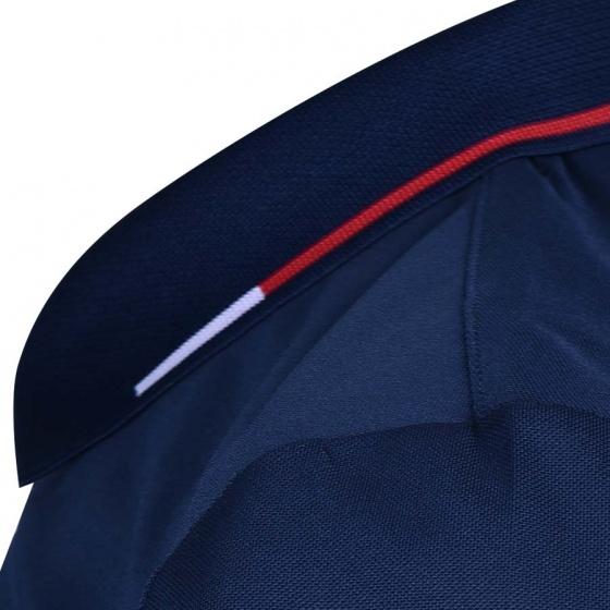 Áo Tennis nam Dunlop - DATES9035-1C-GRK (Xanh đen)