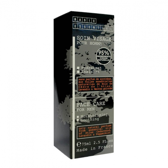 Kem dưỡng da tinh dầu thiên nhiên cho nam Basic Essentiel 75ml