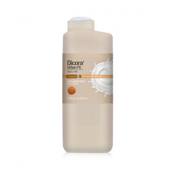 Sữa dưỡng thể Dicora Urban Fit Vitamin B Almonds & Nuts 400ml