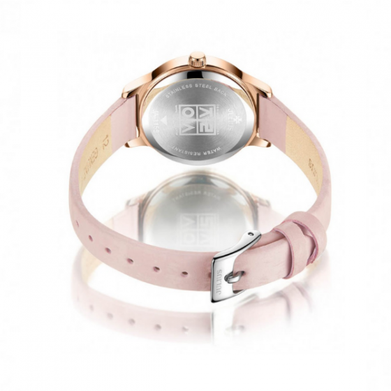Đồng hồ nữ chính hãng Julius Hàn Quốc JA-1155B (Hồng)