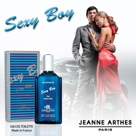 Nước hoa nam Jeanne Arthes Paris Sexy Boy EDT 100ml