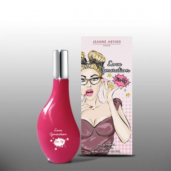 Nước hoa nữ Jeanne Arthes Paris Love Generation Pin Up EDP 60ml
