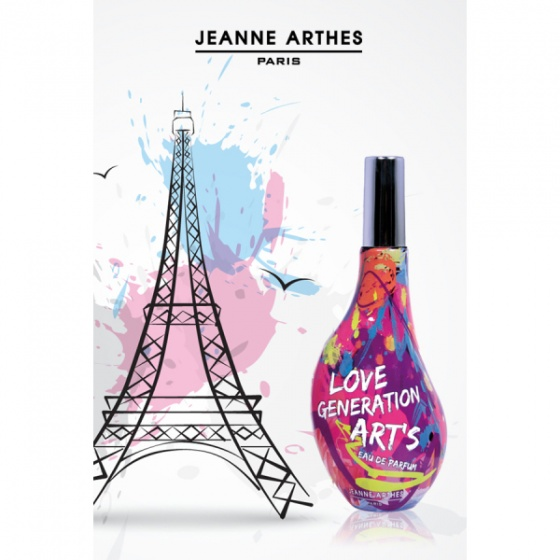 Nước hoa nữ Jeanne Arthes Paris Love Generation Art's EDP 60ml