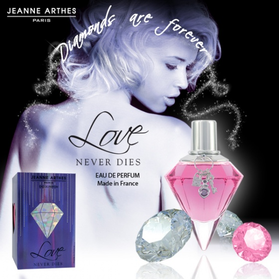 Nước hoa Jeanne Arthes Paris Love Never Dies EDP 60ml