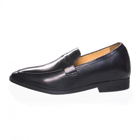 Giày tăng chiều cao nam - Da thật - Geleli