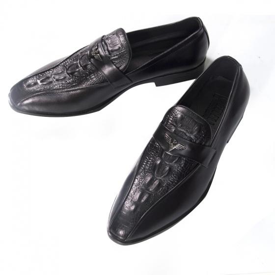 Giày nam da thật - Giày da Geleli