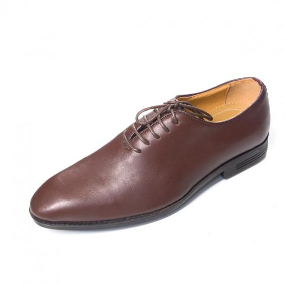 Giày tây nam buộc dây da bò - Geleli
