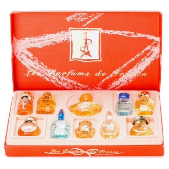 Bộ 10 chai nước hoa Les Perfums de France Charrier Parfums