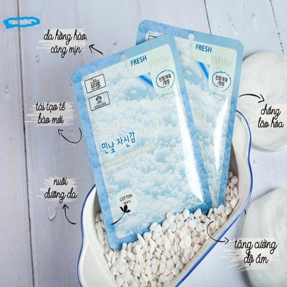 Bộ 5 mặt nạ dưỡng da tuyết 3W Clinic 23ml x5