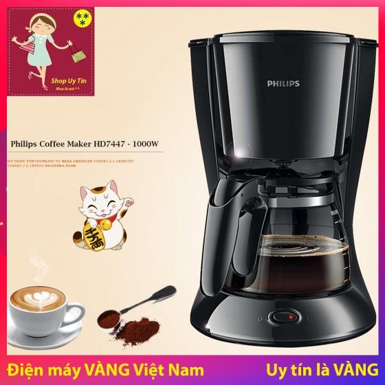 Máy pha cà phê Philips HD7447 Đen