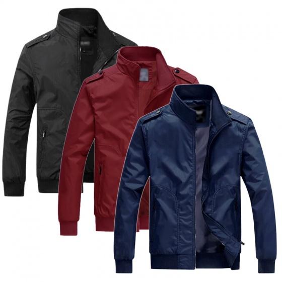 Áo khoác dù nam chống nắng chuẩn phong độ cổ đứng Pigofashion AKDN25 lựa màu