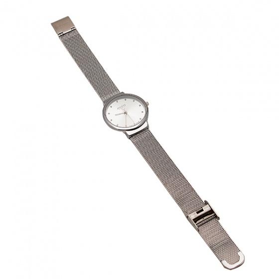 Đồng hồ nữ JA-426LD JU1052 Julius Hàn Quốc dây thép - Bạc