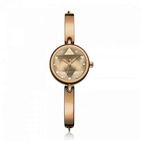 Đồng hồ nữ dây thép chính hãng Hàn Quốc Julius JA-1126E Nâu
