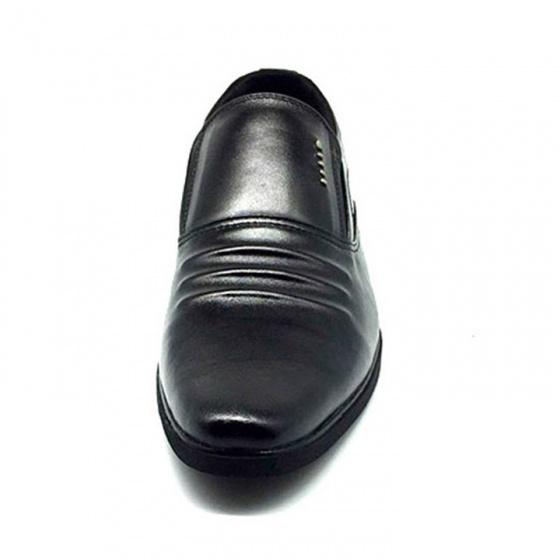 Giày lười công sở nam da bò cao cấp N1621MD Lucacy-Tặng tất khử mùi