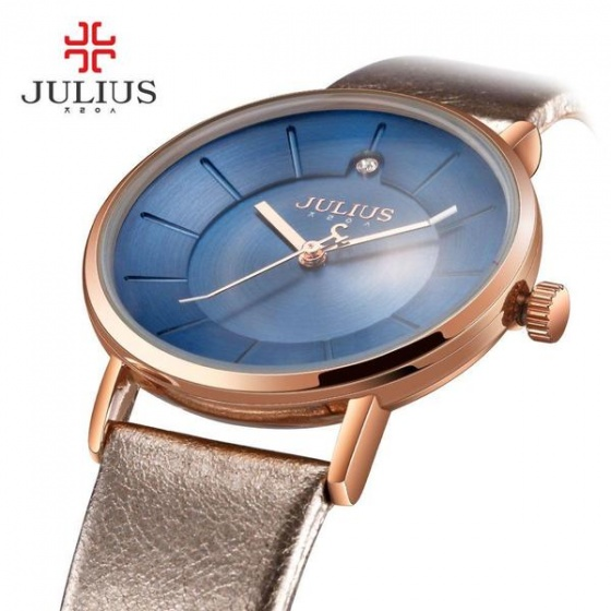 Đồng hồ nữ Julius Hàn Quốc JA-921D JU1195 (mặt xanh)