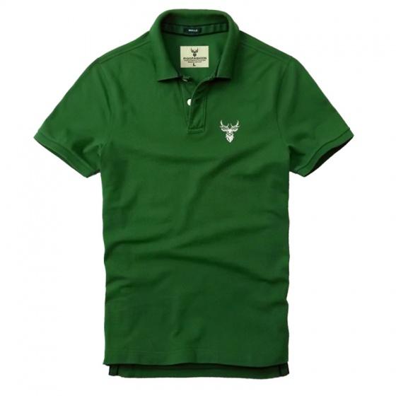 Bộ 3 áo thun nam cổ bẻ basic chuẩn mọi lứa tuổi pigofashion PG01 rêu, xám, xanh da