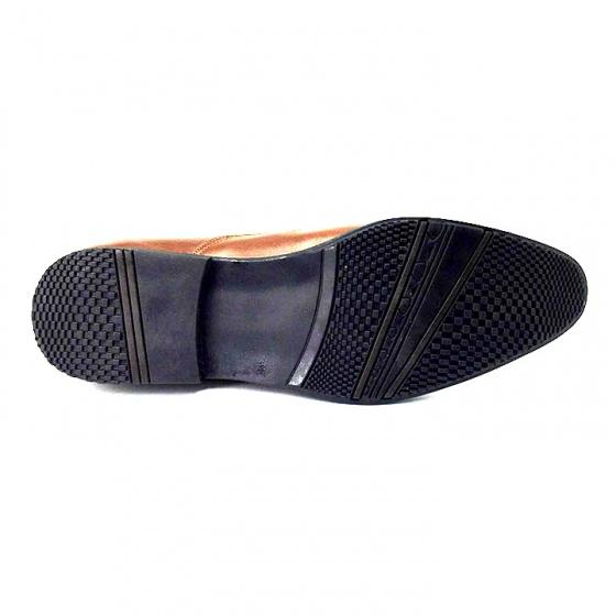 Giày lười công sở nam da bò cao cấp N1621M (nâu) Lucacy - tặng tất khử mùi