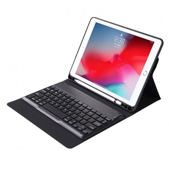 Bàn phím bluetooth kèm bao da cho iPad Pro 12.9 Promax SD79 (kèm khay đựng bút Apple Pencil)