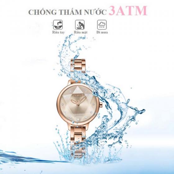 Đồng hồ nữ chính hãng Julius Hàn Quốc JA-1152C (đồng)