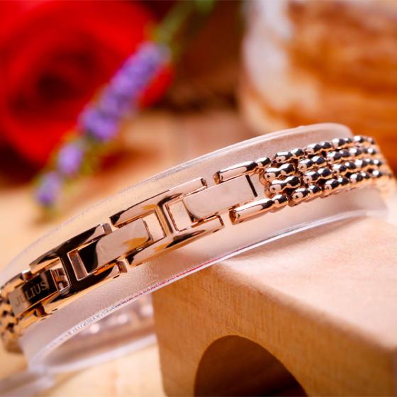 Đồng hồ nữ dây kim loại chính hãng Julius Hàn Quốc JA-1139B đồng