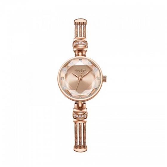 Đồng hồ nữ dây thép chính hãng Hàn Quốc Julius JA-1135B đồng