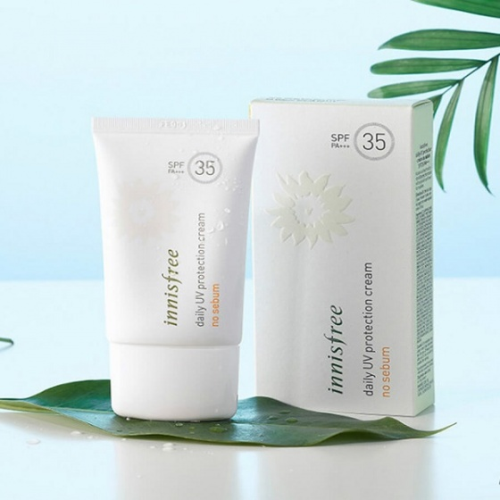 Kem chống nắng Innisfree Daily UV Protection Cream 50ml #No-Sebum