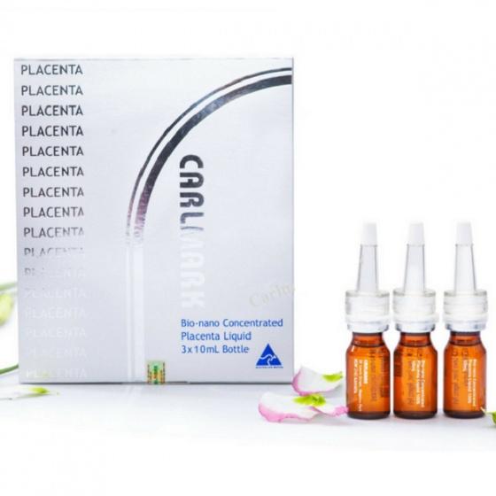 Hộp 3 lọ tinh chất nhau thai cừu Carlmark Bio-nano Concentrated Placenta 10ml/lọ
