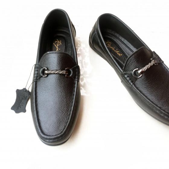 Giày lười nam da bò thật JMTT15