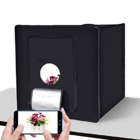Hộp chụp sản phẩm mini studio Promax LED60 60cm x 60cm x 60cm