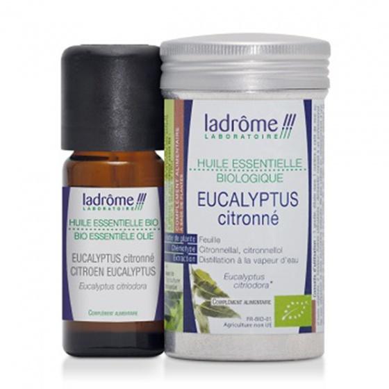 Tinh dầu organic Eucalyptus Citronné