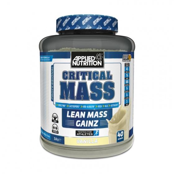 Sữa tăng cân Applied Nutrition Critical Mass 2.4kg - white chocolate vanilla