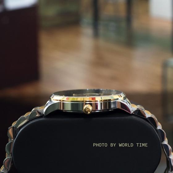 Đồng hồ nam Sunrise 1146SA G chính hãng (full box + thẻ bảo hành 3 năm) kính sapphire chống xước - chống nước - dây thép 316l