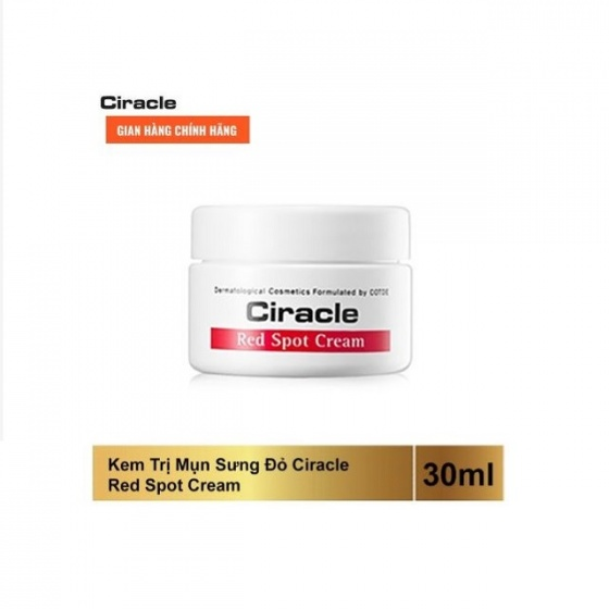 Kem trị mụn Ciracle Red Spot Healing Cream