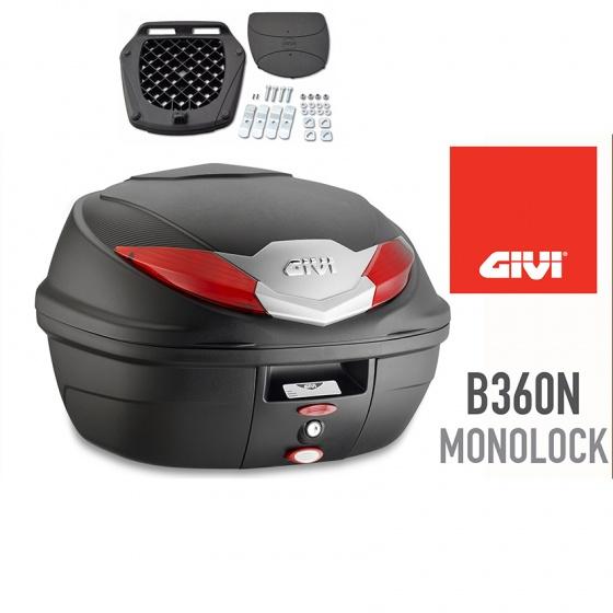 Thùng đựng đồ xe máy Givi B360N monolock 36 lít hàng chính hãng