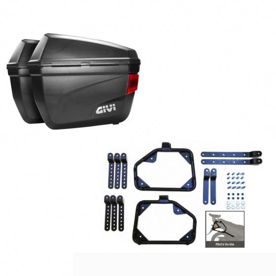 Cặp thùng hông Givi E22N 22 lít và cặp baga hông hàng chính hãng