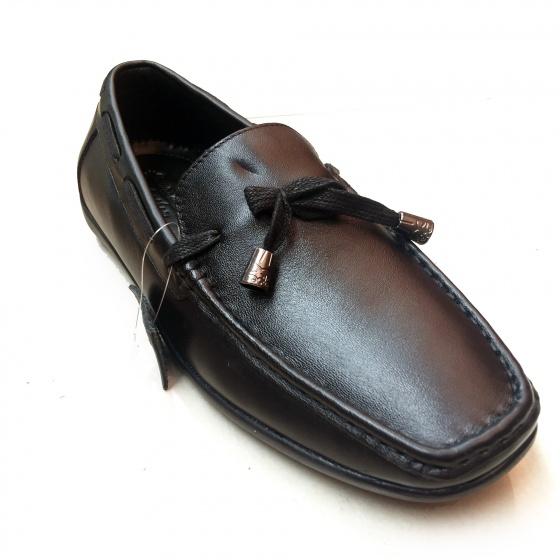 Giày lười nam da bò thật chính hãng