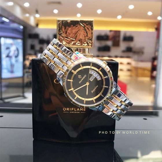 Đồng hồ nam Sunrise DM767SWA chính hãng (full box + thẻ bảo hành 3 năm) kính sapphire chống xước - chống nước - dây thép chống dỉ 316l