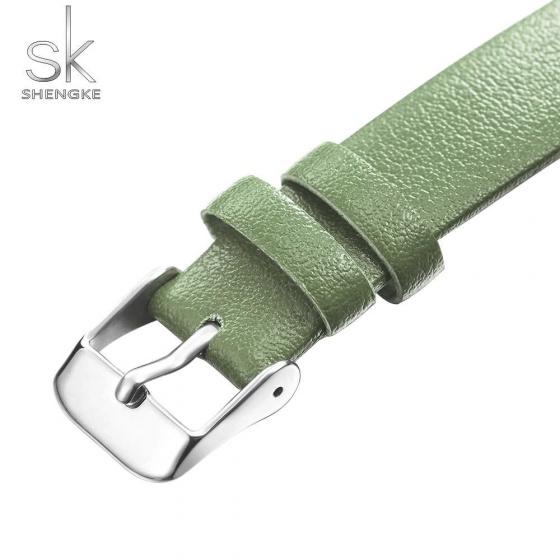 Đồng hồ nữ chính hãng Shengke Korea K0108L-01 xanh
