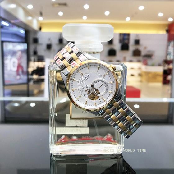 Đồng hồ nam Sunrise DM7006SWA aitomatic (full box + thẻ bảo hành 3 năm) kính sapphire chống xước, chống nước, dây thép 316l