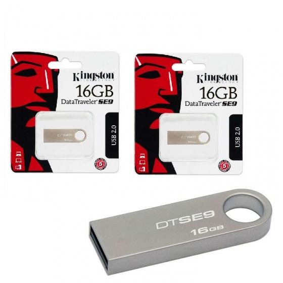 (Combo - bộ đôi lưu trữ) 2 USB Kingston Data Traveler SE9 16G